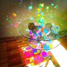 Sparkle Palace Table by John Foster