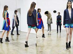 Rad Hourani est le premier créateur canadien à devenir un «membre invité» par la fédération française de la haute couture à Paris et le premier à présenter une collection co…