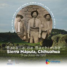 3 de julio de 1912: las fuerzas orozquistas sublevadas en contra de Madero fueron vencidas por los huertistas.  #ComSocChih #GobiernodeChihuahua