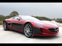 "Electric Supercar ""Concept_One"""