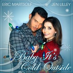 Here's your FIRST LOOK at the CD single cover art I shot & designed for @Jen_Lilley & @EricMartsolf's New Christmas single 'Baby It's Cold Outside!' Set to be released this week just in time for the holiday season to begin the @NBCDays dynamic duo recorded the single w/ #FrankSinatra's legendary drummer #GreggField & #ChuckBerghofer & Produced by #RobChristie! Check out Jen's & Eric's twitter accounts this week for the official release! / Photographed By @Bradley206 #BradEverettYoung /