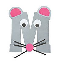 """""""M Is For Mice"""" Letter M Craft Kit.this is so cute to do with every letter and then make a book out of them at the end of the alphabet accept lower case please we read in lower case so we teach in lower case Letter M Activities, Preschool Letter Crafts, Alphabet Letter Crafts, Abc Crafts, Preschool Projects, Alphabet Book, Daycare Crafts, Mouse Crafts, Classroom Crafts"""