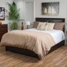 Best Selling Home Blythewood Upholstered Panel Bed, Size: Queen - 296173