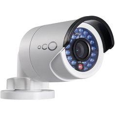 Oco - Pro Bullet Indoor/Outdoor 1080p Wi-Fi Network Surveillance Camera - White, OP-BULL