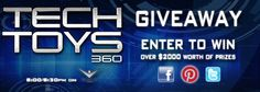 Enter now for you chance to win an awesome pair of Liquid Image HD Camera Goggles http://techtoys360.com/