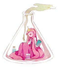 Princess Bubblegum.