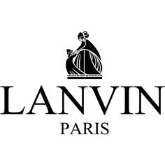 lanvin-logo.png (2133×1354) ❤ liked on Polyvore featuring logo