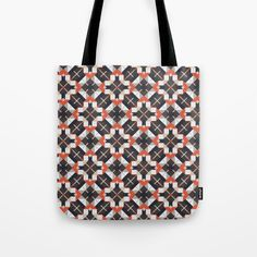 Checkered pattern Tote Bag by g-man G Man, Tote Pattern, Repeat, Reusable Tote Bags, Patterns, Stuff To Buy, Block Prints, Pattern, Models