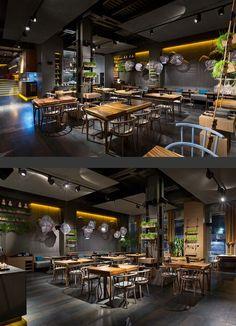 EAST restaurant on Behance