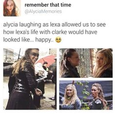 "Sometimes I just wake up in the middle of the night and think ""Lexa deserved better,yeah"""