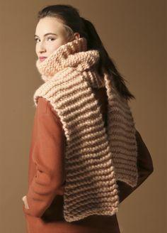 Knitting Kit Wool Bryant scarf