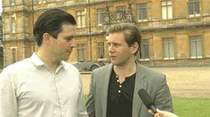 Rob James-Collier and Allen Leech gif   blog james collier