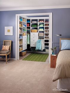 Closet Organizers For Your Bedroom By EasyClosets.com Walk In Closet Design,  Reach In