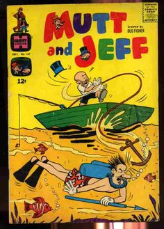 MUTT & JEFF VOLUME 1 NUMBER 147 SEPTEMBER 1965 COMIC  (Comics), May not be noted.