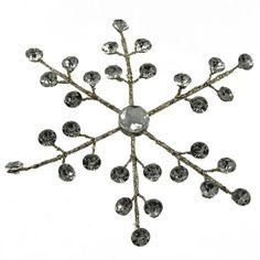 18cm Hanging CrystalSnowflake