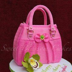 purse cakes | Purse cake by TaHe4ka | Cake Decorating Ideas