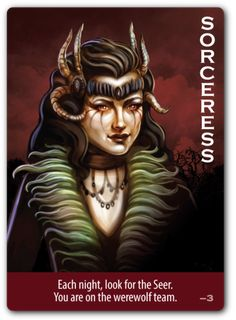 Order individual replacement cards compatible with Ultimate Werewolf and Ultimate Werewolf Deluxe Edition. Werewolf Card, Werewolf Games, Sorry Game, Card Games, Game Cards, Witch, 25th Birthday, Fictional Characters, Board