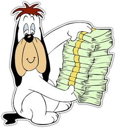 Animated Cartoon Characters, Classic Cartoon Characters, Classic Cartoons, Famous Cartoons, Cool Cartoons, Droopy Dog, Old School Cartoons, Happy Images, Cartoon Stickers