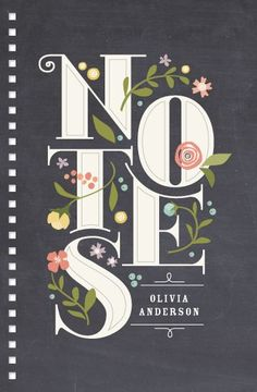 Nice design and typography. Strong and floral. Notes by Jennifer Wick