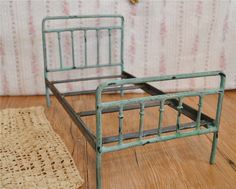 Metal Doll Bed Blythe Bed Victorian Antique Style Handmade Barbie Bed Playscale | eBay