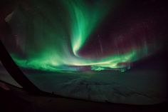 I'm a passionate pilot and a photographer, who takes most of his photos from the cockpit. The panoramic views high up in the sky have always fascinated me. Alaska, Polo Norte, Northern Lights, Aviation, In This Moment, Travel, Amazing, Cloud, Nature