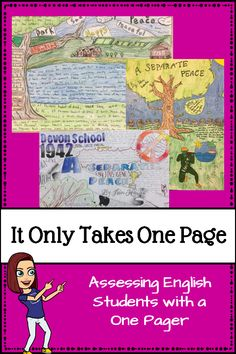 Concept: Students write & illustrate a essay about storyline Core Content Area: Art + English Other Course Connections: Practice proper grammar & punctuation. 7th Grade Ela, 6th Grade Reading, Middle School Reading, Middle School English, Fourth Grade, Ela Classroom, English Classroom, Classroom Setup, Future Classroom