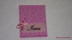 Capa em cartonagem para bloquinhos de anotações, personalizada !!!