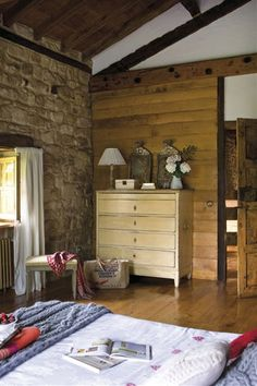 Dormitorio principal Ideas Hogar, Ideas Para, Sweet Home, Flooring, Furniture, Home Decor, Bedrooms, Decoration, Rural House
