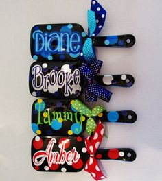 Monogram Personalized Paddle Hairbrush by DeepSouthSC on Etsy