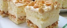 Recept Fantastický LION zákusek - KROK ZA KROKEM Sweet Recipes, Cake Recipes, Dessert Recipes, Kolaci I Torte, Sweets Cake, Sweet And Salty, Homemade Cakes, Food Cakes, Dessert Bars
