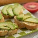 Avocado Garlic Toasts from The Six O'Clock Scramble #appetizer #avocado