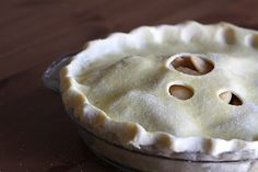 """How to make buttermilk pie crust. Rich and flaky - Requires 1 hour in the fridge to """"rest"""" the dough. Joy the Baker"""