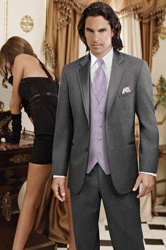Jean Yves Steel Grey Modern Fit Tuxedo | Jim's Formal Wear