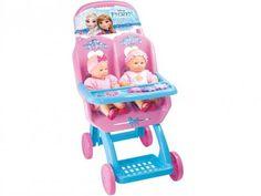 Carrinho de Boneca Duplo Frozen - Lider Brinquedos com as melhores condições você encontra no Magazine Ubiratancosta. Confira!