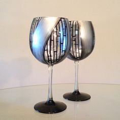 Made to order.  Hand painted silver black by SpitsnogleDesigns, $68.00