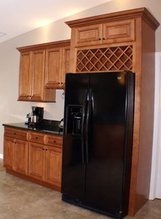kitchen storage above refrigerator Google Search Kitchens
