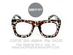 Coffee Sun Animal Php 340.00 on #ShopYAWYW free shipping Free Shipping, Sunglasses, Coffee, Shop, Animals, Kaffee, Animales, Animaux, Cup Of Coffee