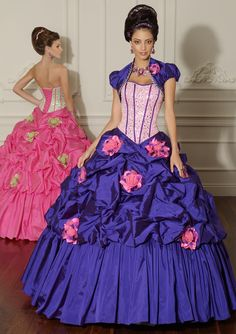Chic strapless 16th birthday party prom dress