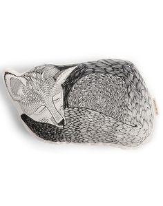Sleeping Fox Pillow