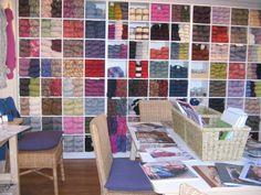 diy yarn storage | organización y orden -_- | pinterest | yarn