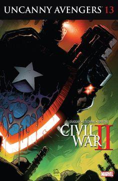 Uncanny Avengers (2015) #13 #Marvel @marvel @marvelofficial #UncannyAvengers (Cover Artist: Ryan Stegman) Release Date: 8/31/2016