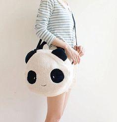www.sanrense.com - Fashion cartoon cute panda bag