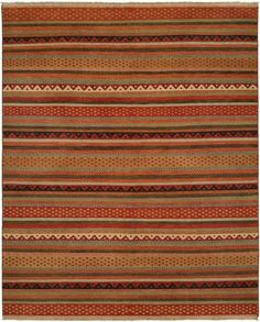 A flat-woven, Soumak rug, made from a technique that produces a herringbone effect. Using pure wool gives an Argentine blend. Rugged authenticity enjoys a delicate application. An earthly honesty reflects the essence of humanity. Thread by thread,. Rug Studio, Dhurrie Rugs, Transitional Rugs, Rustic Rugs, The Ranch, Persian Carpet, Throw Rugs, Blue Area Rugs, Rug Size