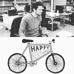 Happy Birthday to our Sales Manager!! #happybirthday #veloboxx #bikemobility #bikestorage #fiets #velo #bicycle #bicicletta #bicicleta #congrats