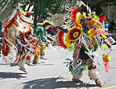 Native American Traditional Dance - Pow Wows