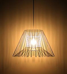 Clothe hanger lamp by Rameikeum
