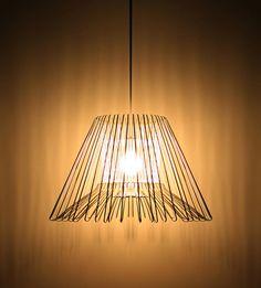 Clothe hanger lamp by Rameikeum
