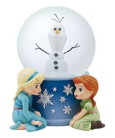 Love this Frozen Do You Want to Build a Snowman Snow Globe on #zulily! #zulilyfinds