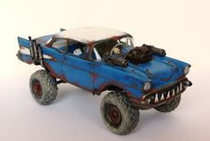 [Shiny and Chrome] [WIP] Building Mad Max-Style Cars for Tabletop Gaming Custom Hot Wheels, Hot Wheels Cars, Legos, Chevy Models, Death Race, Mad Max Fury Road, Arte Horror, Fallout, Survival