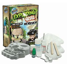 Mix safe acids and bases to create booger bombs, fizzing eyeballs, zits that pop, and more - It's real science that looks like the most disgusting special effects around!